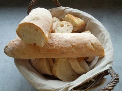 gesneden stokbrood vers houden